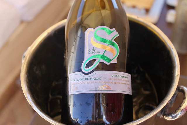 Vino blanco de Marruecos