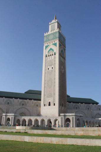 Vista Mezquita Hassan II