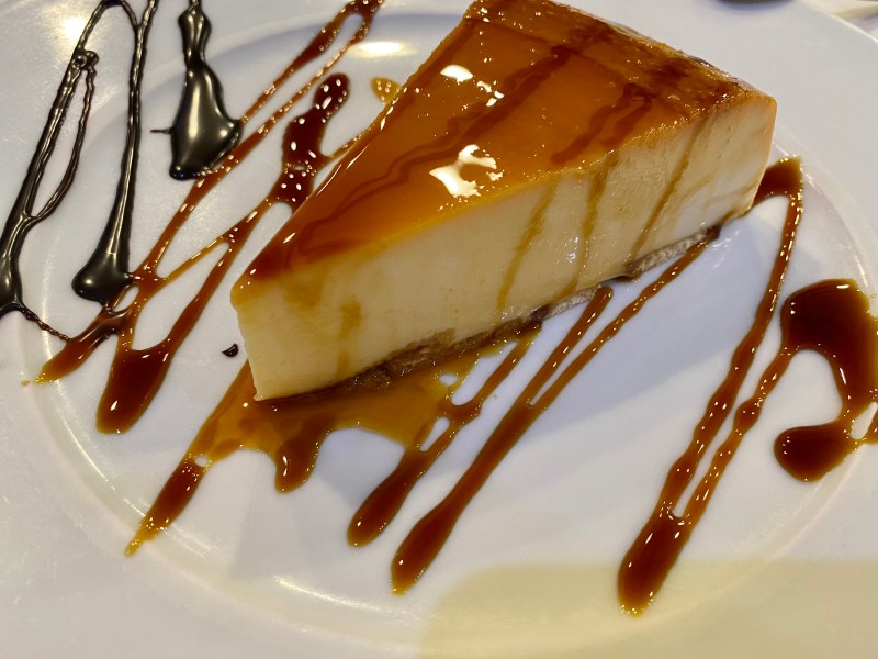 Tarta de queso Sidreria Miravalles Gijon