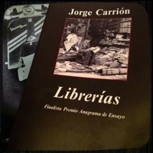 CARRION_librerías