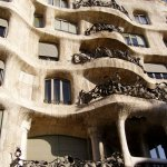 Casa Milà von Antoni Gaudí