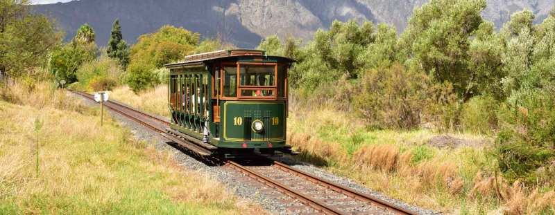 """""""Franschhoek Wine Tram, Western Cape, Sou"""" (CC BY 2.0) by South African Tourism"""