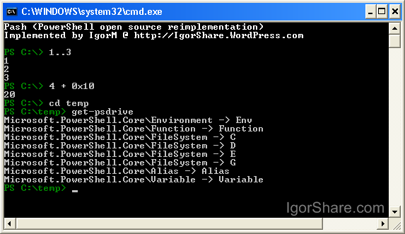roualin windows PowerShell on Linux, Solaris, Mac, PHONES!!! etc