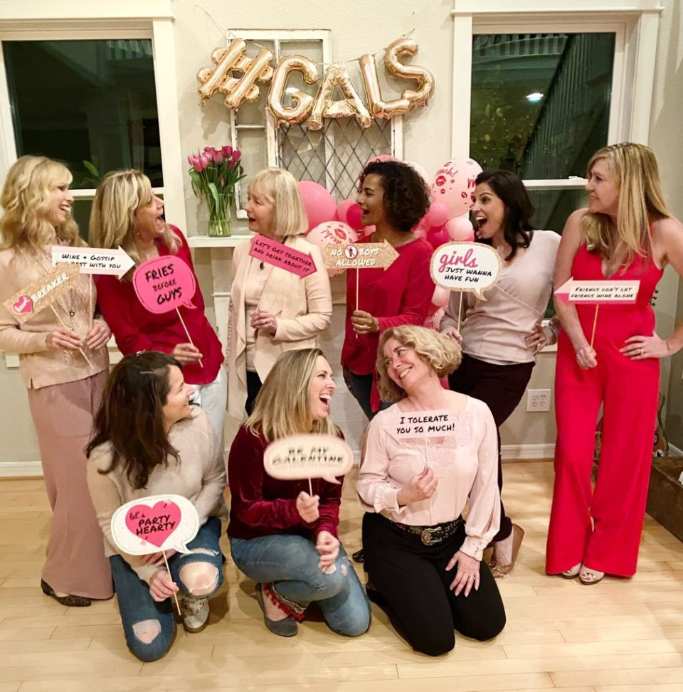 galentines day celebration