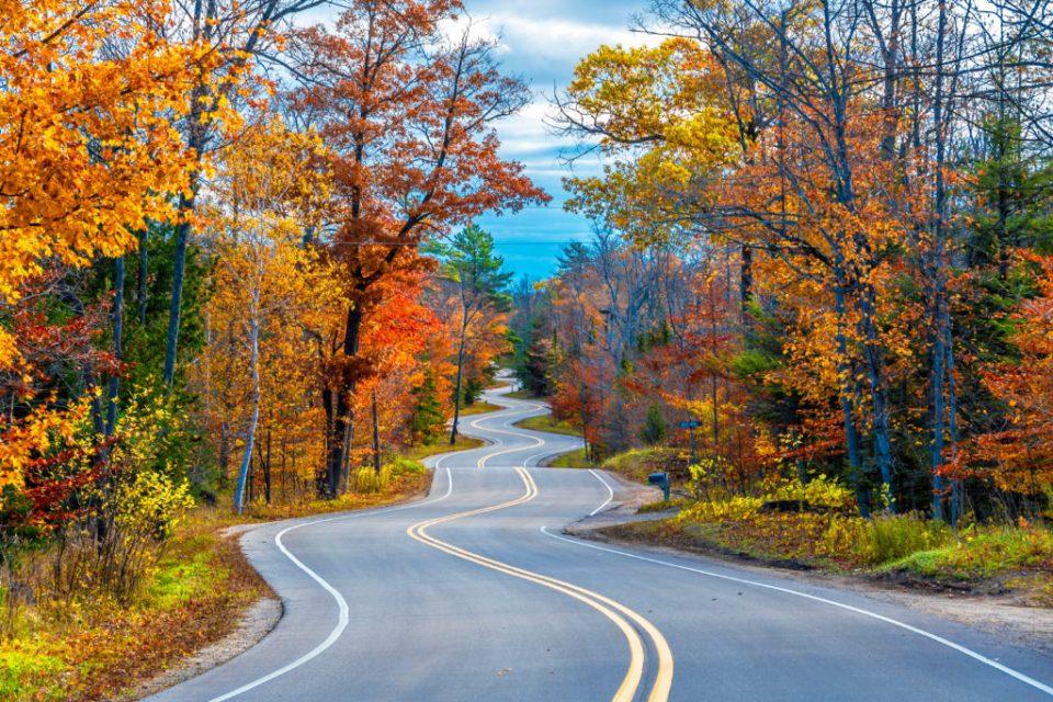 Fall in Door County Wisconsin