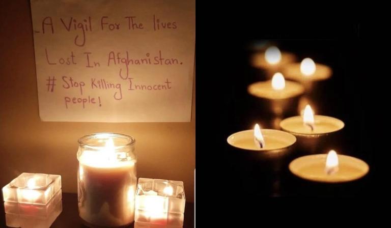 vigil for kabul attack victims