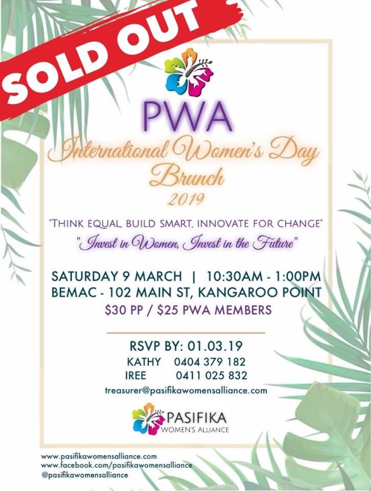 PWA IWD 2019 - SOLD OUT