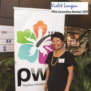 PWA Committee Member - Violet Langan