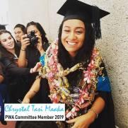 PWA Committee Member - Chrystal Tasi Maaka