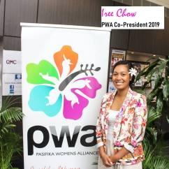 PWA Co-President - Iree Chow