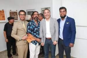 Dionis Rufino, Miguel Ramírez, Rubén Carrasco y Juan Tiburcio.