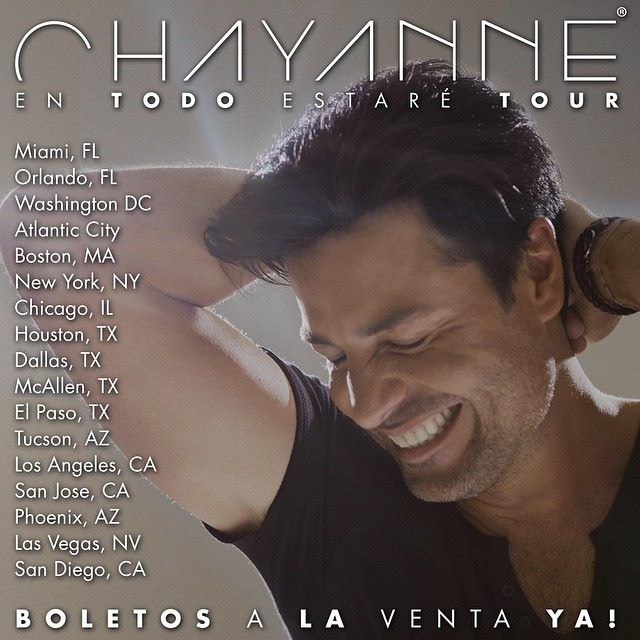 CHAYANNE... MAGIA EN EL ESCENARIO (1/3)