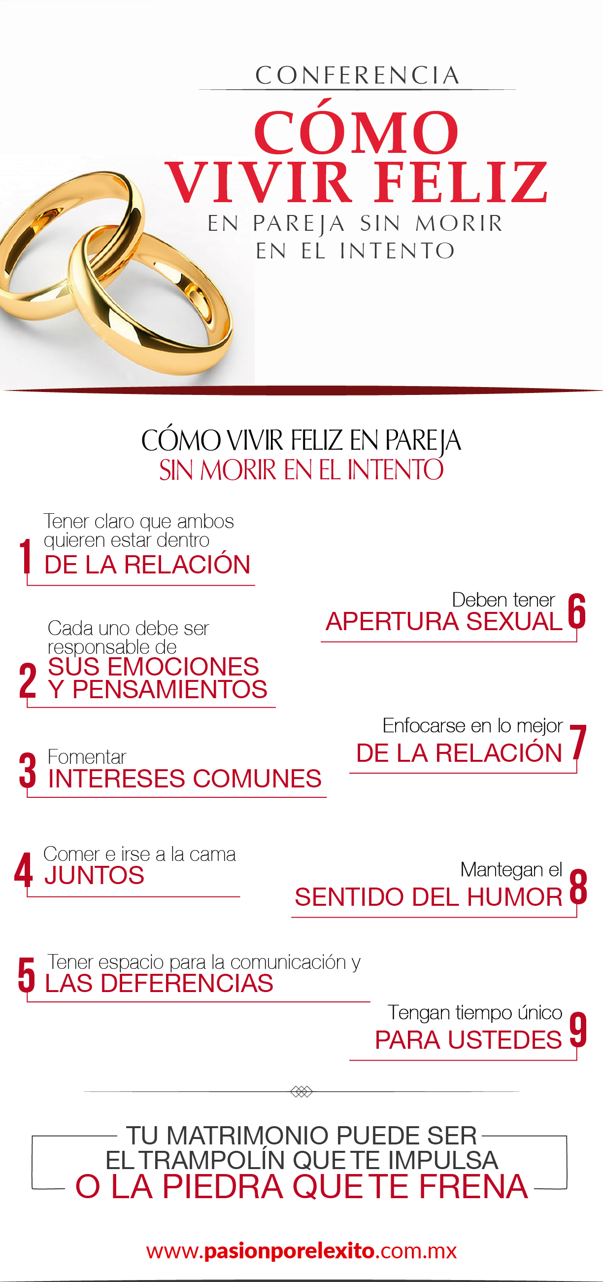 Dinamicas Y Conferencias De Matrimonios