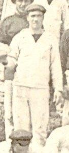 Rafael Hermoso, prisionero en el Camp Long.