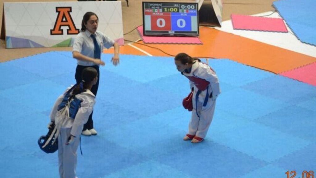 mejorar en combate de taekwondo