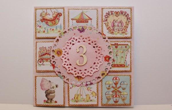 Kartka urodzinowa dziecięca – wzory