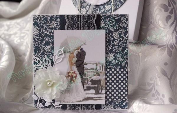 Granatowy ślub – wzory