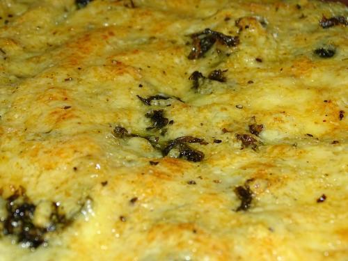 Filet z kurczaka z serem - zbliżenie