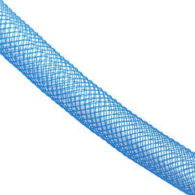 Siatka jublierska niebieska 6mm ok. 20cm