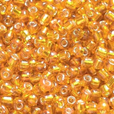 Koraliki pomarańcze 2mm kilkadziesiąt sztuk