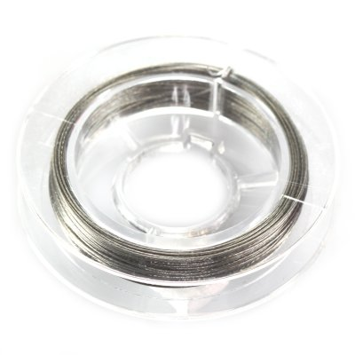 Linka stalowa kolor srebrny 0.45 mm ok. 40-50cm