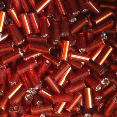 Rurki czerwień 4,5mm kilkanaście sztuk