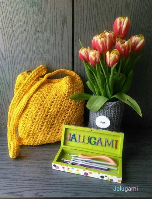 Jalugami - żółta torebka