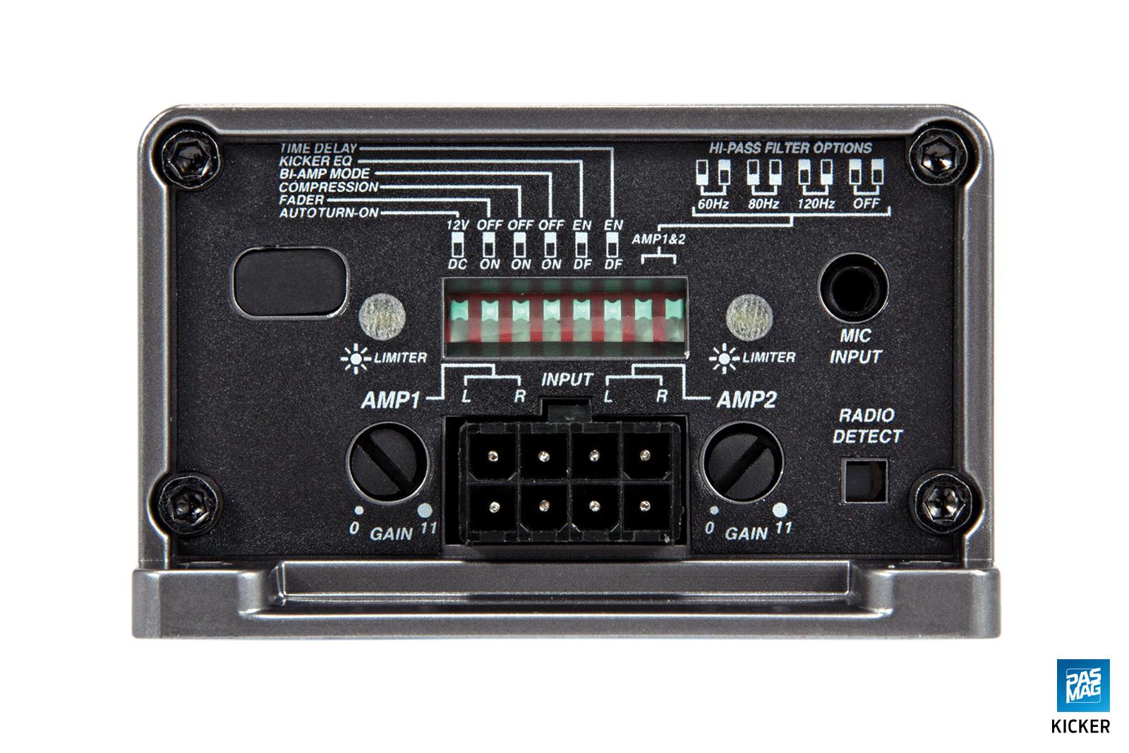 Kicker Key180 4 Amplifier Review