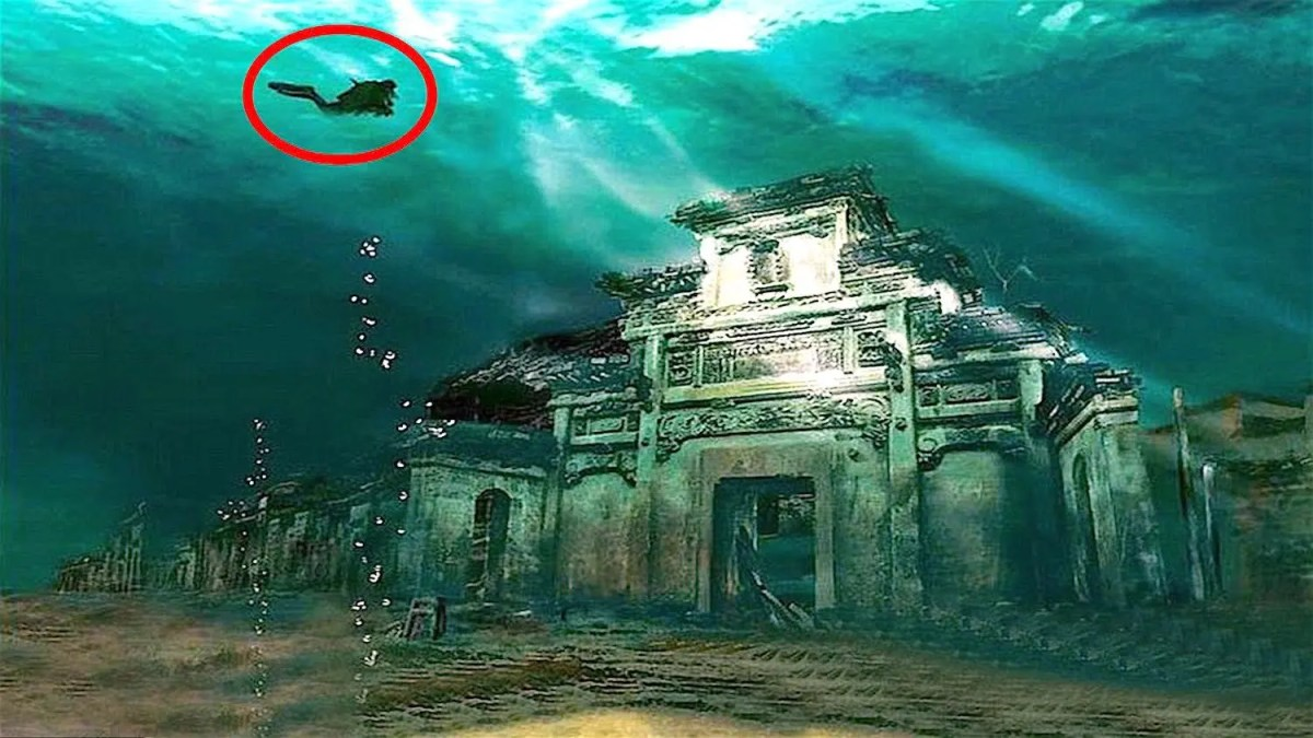 What are The Most Amazing Cities Found Underwater?