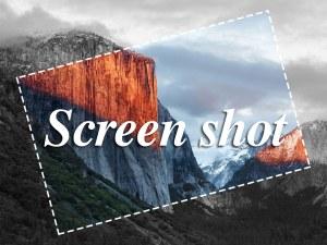 Mac スクリーンショット
