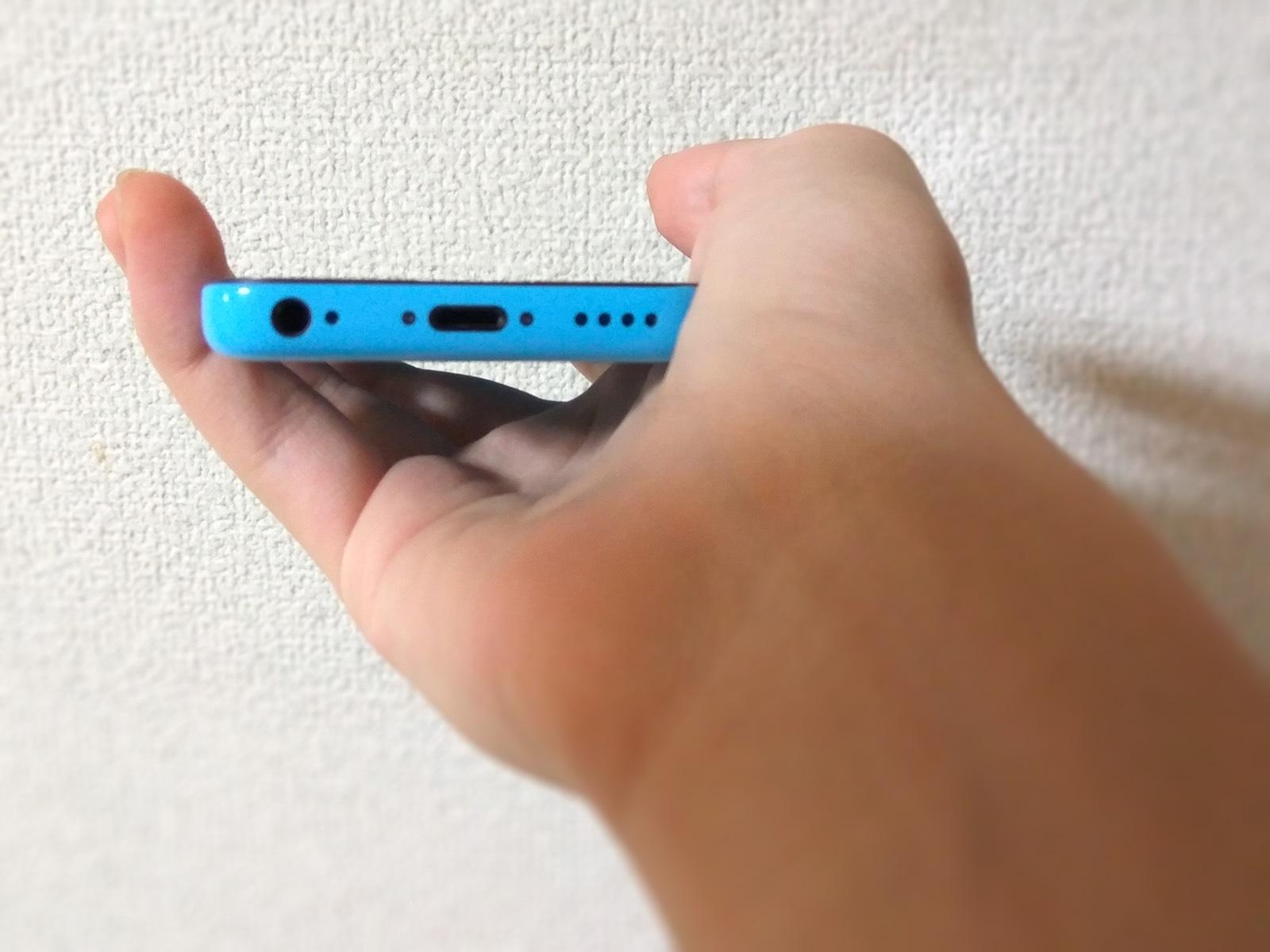 iPhone 5c バッテリー交換 最終チェック