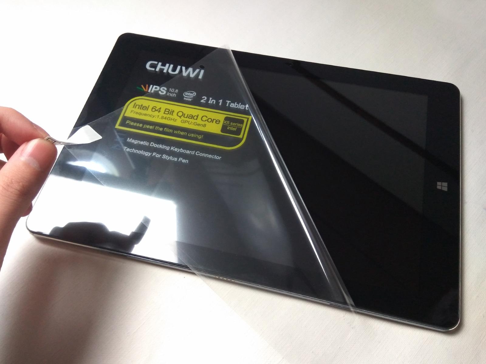 CHUWI Hi10 Plus 開封 保護シート