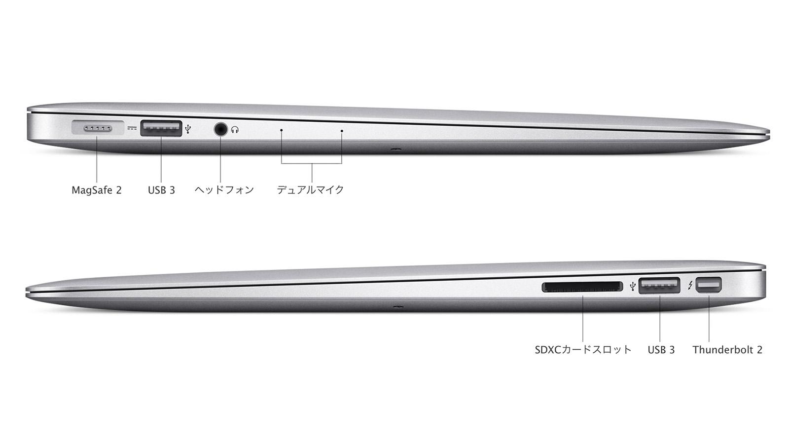 MacBook Air 拡張端子