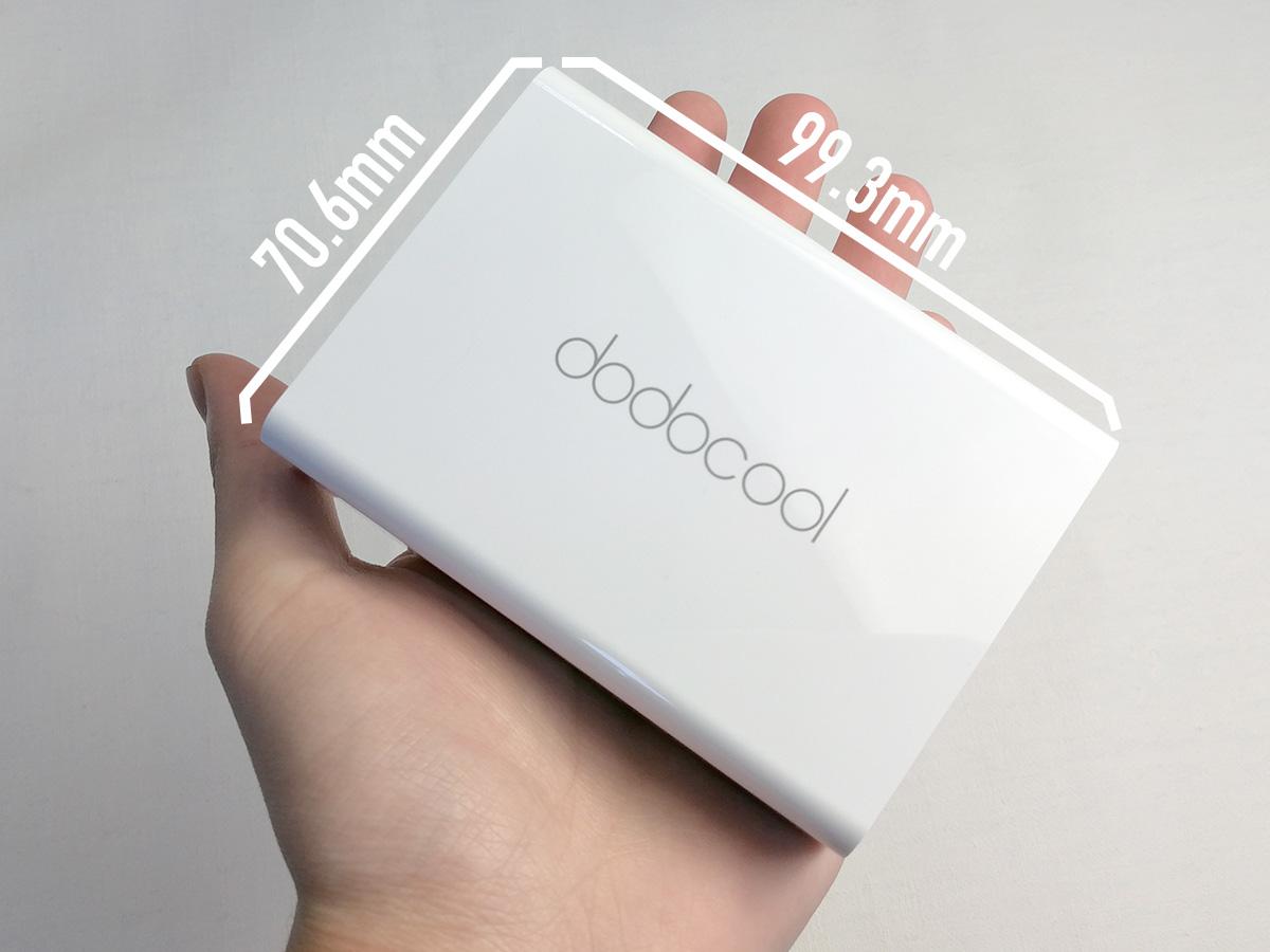 dodocool 58W 6ポートUSB充電器 コンパクトなサイズ