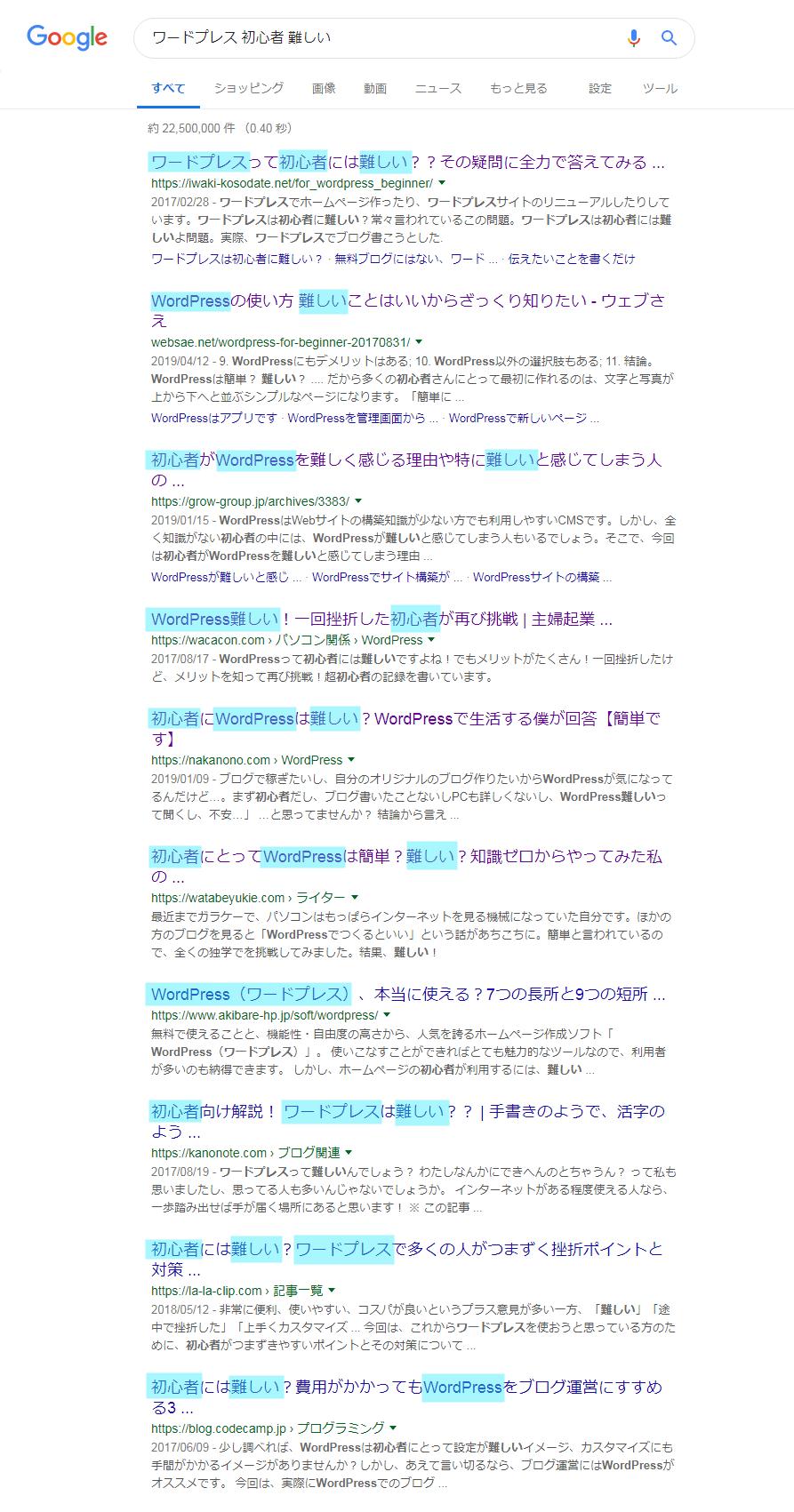 ブログのライバルリサーチ1