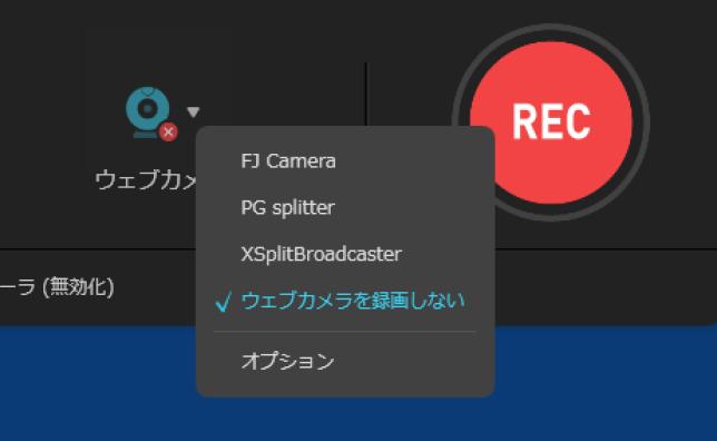 EaseUS RecExpertsウェブカメラ録画2