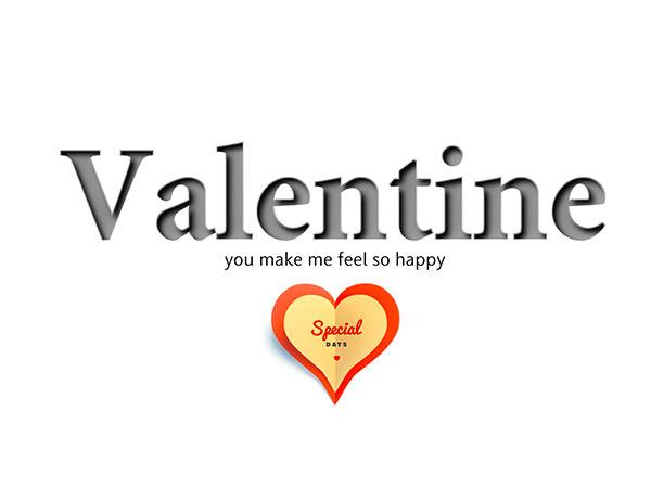 Valentine Background Type1 / バレンタイン(完成品)