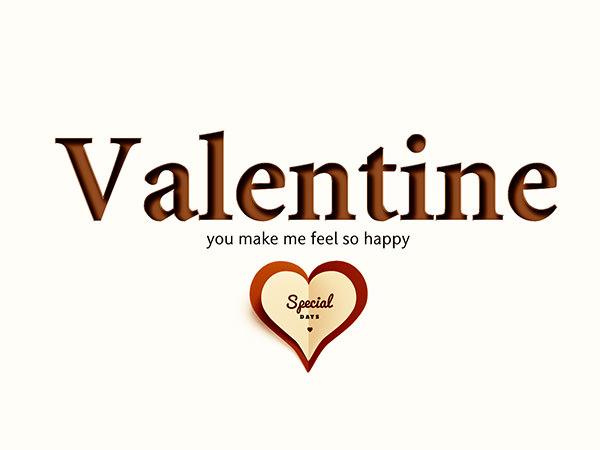 Valentine Background Type5 / バレンタイン(完成品)