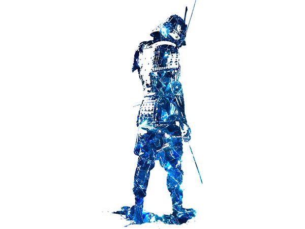 Samurai Type10 / 侍(ヒスイ-青色)