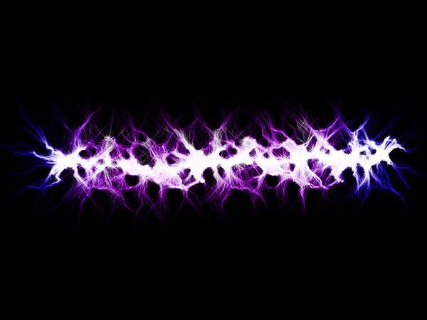 Lightning Purple Effect 4 / 稲妻-紫色