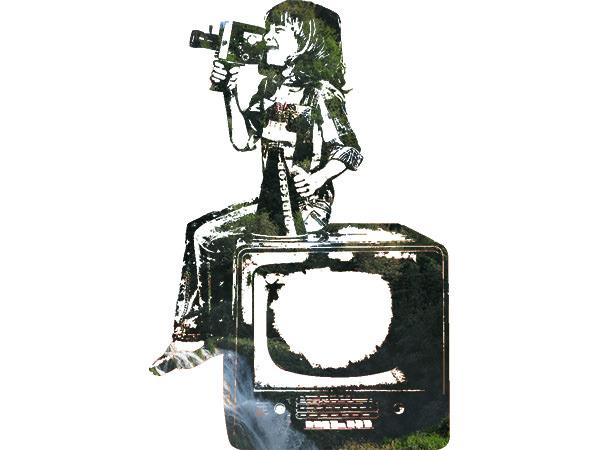 Movie Kids Nature / 映画を撮る少年(自然)