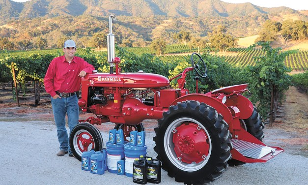 Paso's Schimke is Finalist for 2019  Delo Tractor Restoration Competition