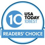LXV Wines USA Today Readers Choice Badge