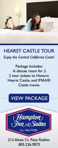 Hampton Inn Hearst Castle Tour Package
