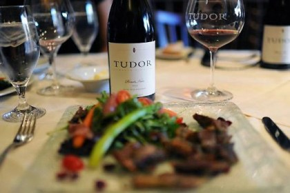 Tudor Wines served with meal
