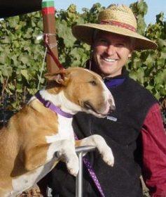 Dan Tudor with Rad Dog