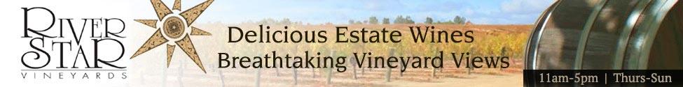 Riverstar Vineyards Banner ad