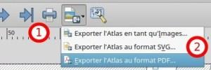 export d'atlas