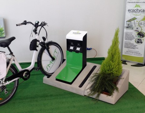 Bike Parking Charge Station prototype, step 3