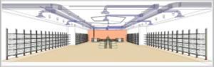 progetto retail design in bim
